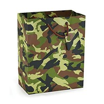 *Camo Medium Gift Bag