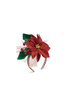 ***Poinsettia Headband