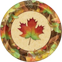 """***Woodland Fall 9"""" Dinner Plate 8ct"""