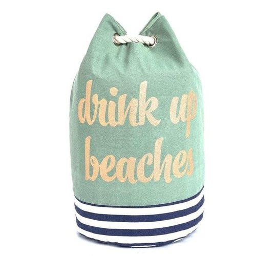 EverEllis Drink up Beaches Cooler Tote