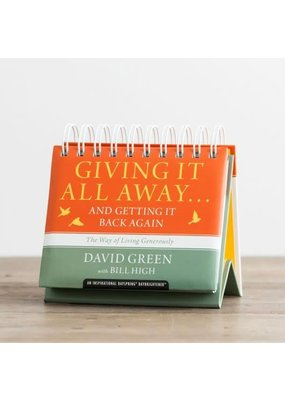 DaySpring ***Giving It All Away - Perpetual Calendar
