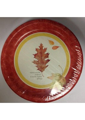 "***Bastin Brisk Winds 7"" plates 8ct"