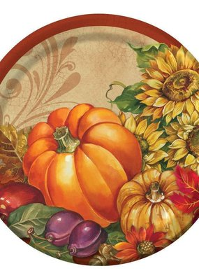 """***Bountiful Blessings 7"""" Plate 8ct"""