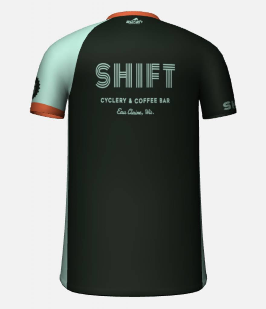 Shift Cyclery & Coffee Bar Men's AC Short Sleeve Free Ride Jersey