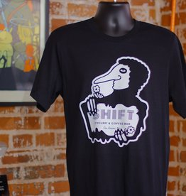 Shift Cyclery & Coffee Bar The Gabe F Shirts by Ambient Inks Large