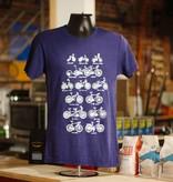 Shift Cycles of Life Shirt, Indigo