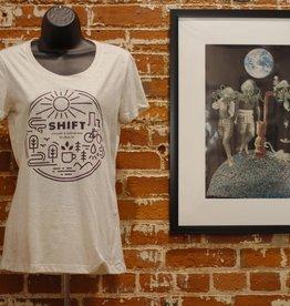 Shift Cyclery & Coffee Bar Shift Burst T-Shirt Femm