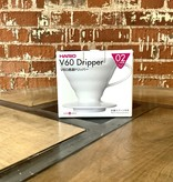 Hario V60 Dripper - White Ceramic