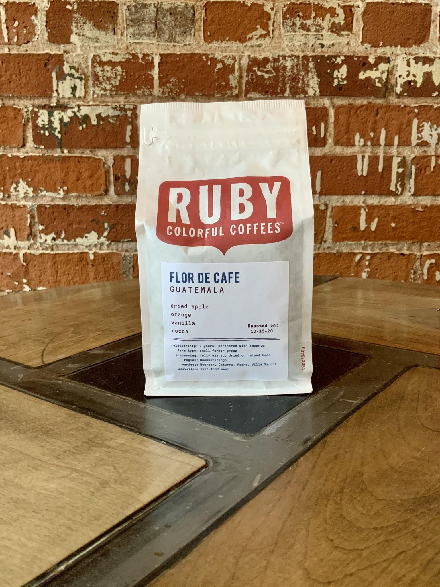 Ruby 12 oz Bag - Guatemala Finca De Dios