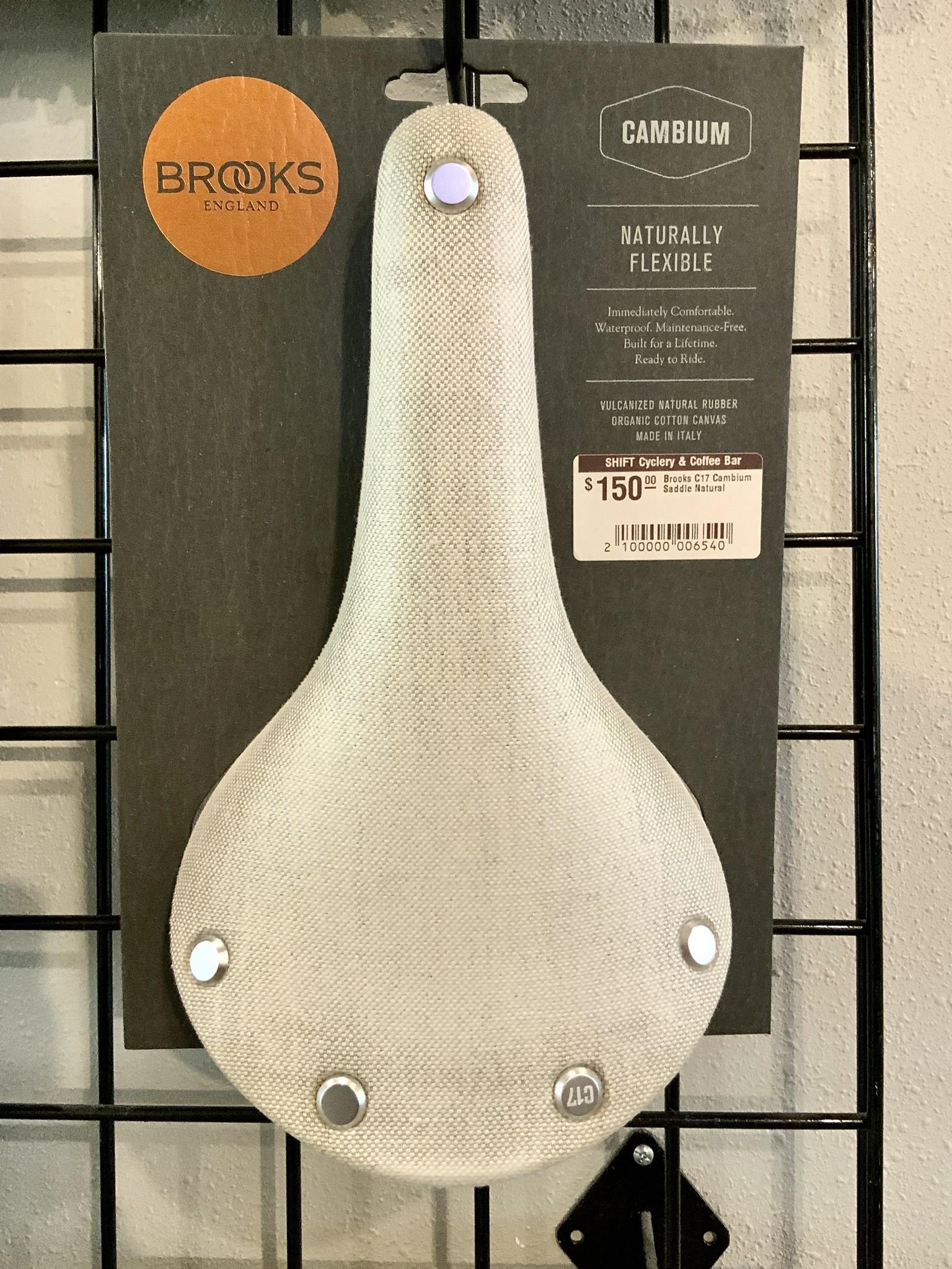 Brooks Brooks C17 Cambium Saddle Natural