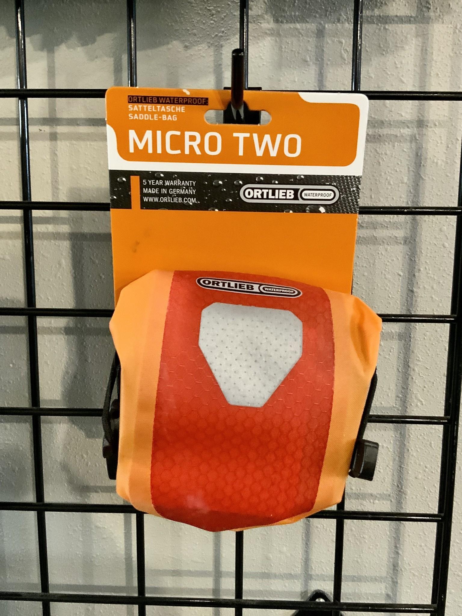 Ortlieb Micro 2 Saddle Bag