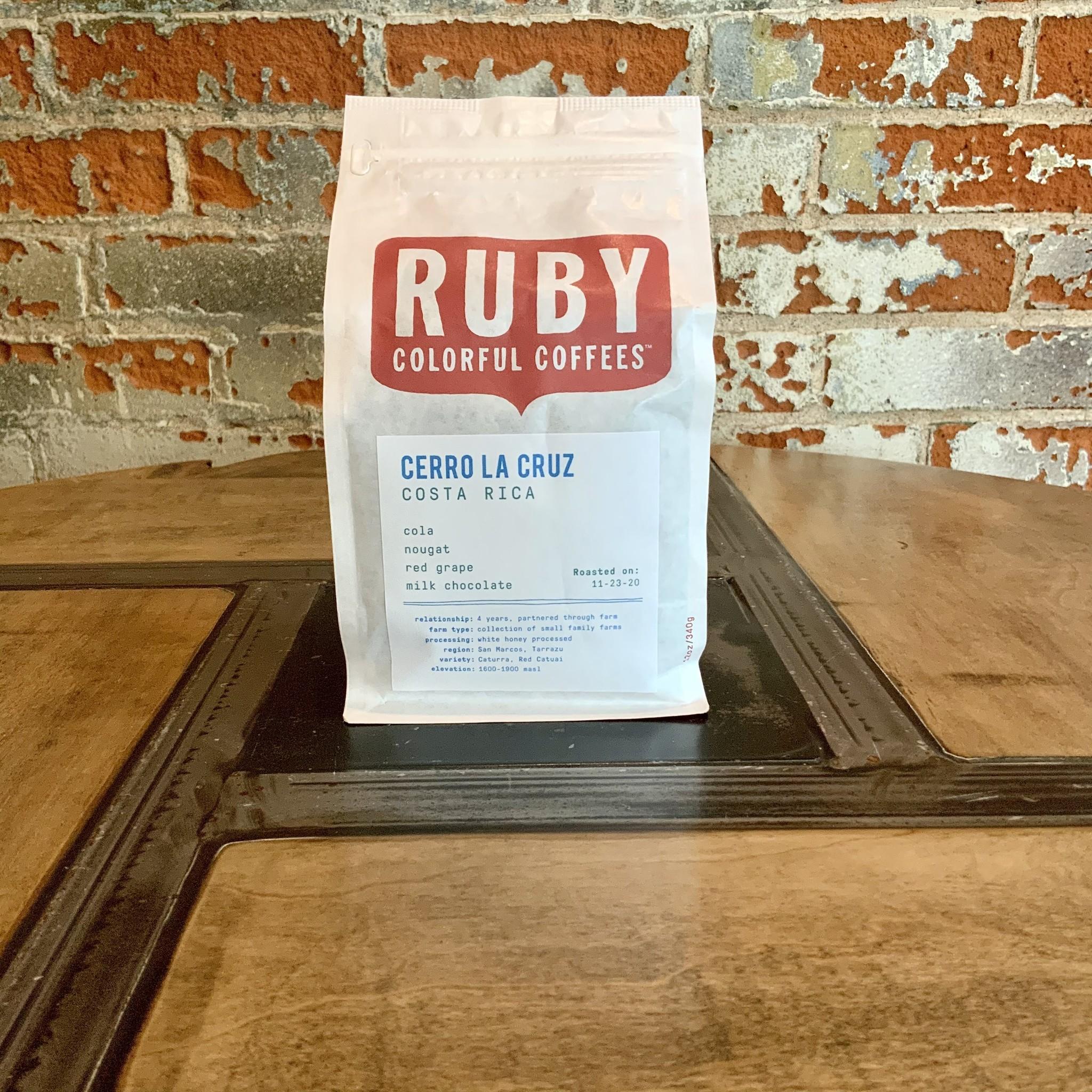 Ruby 12 oz Bag - Costa Rica Cerro La Cruz