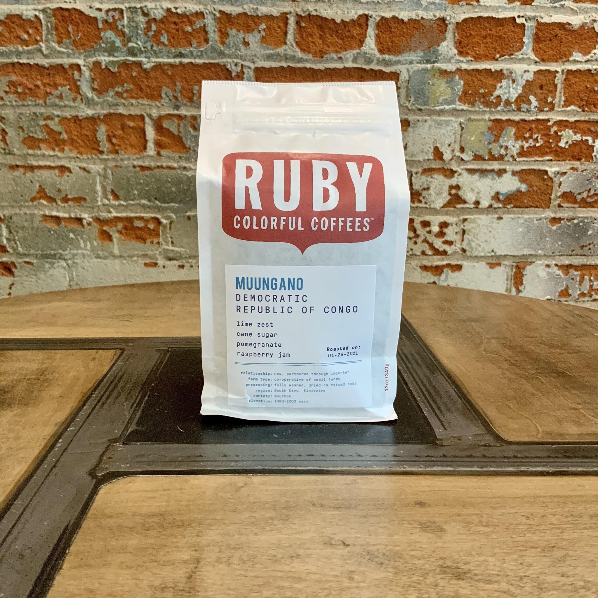 Ruby 12 oz Bag - Democratic Republic of Congo
