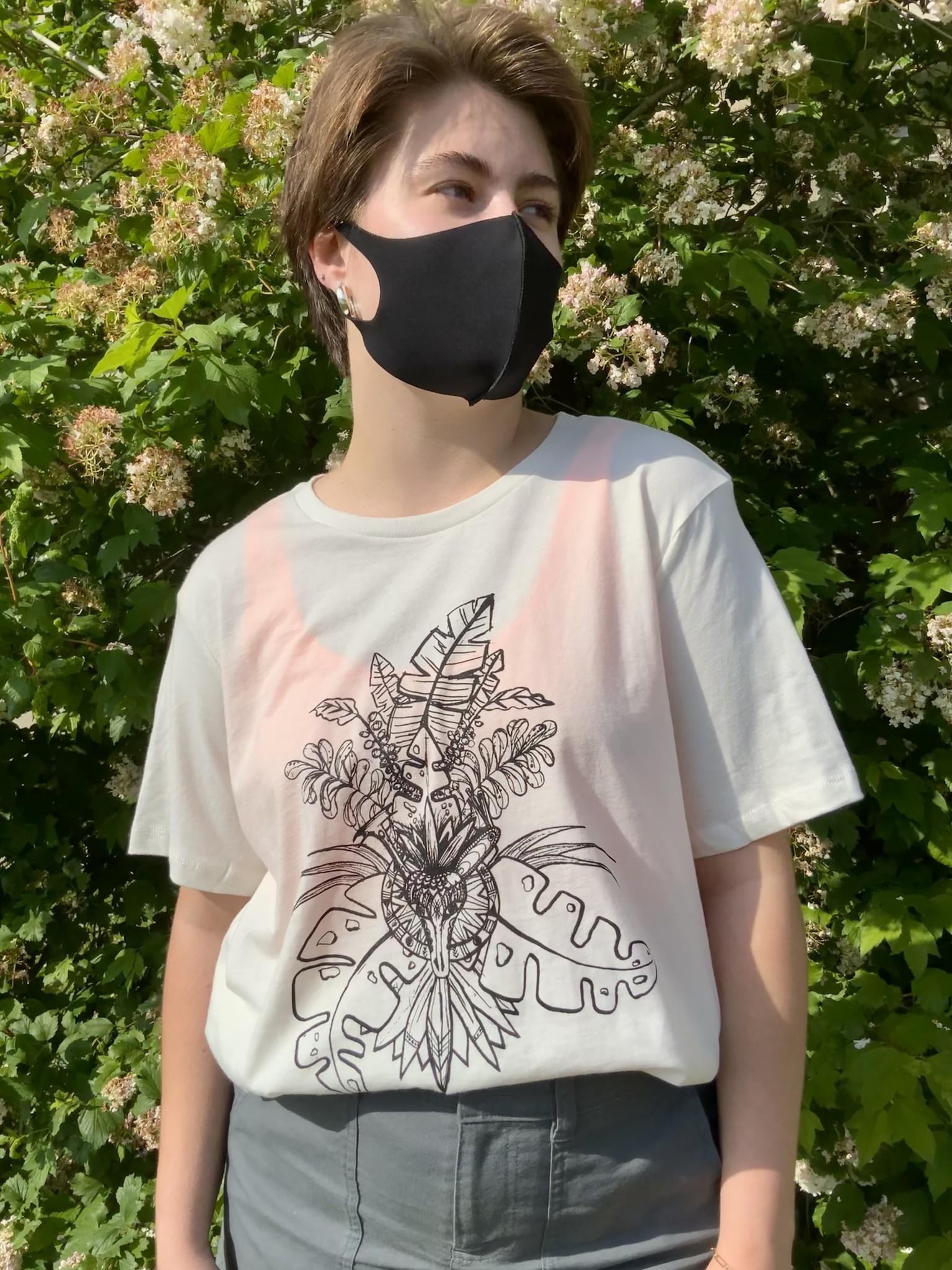 T-Shirt Mural Femme - XL