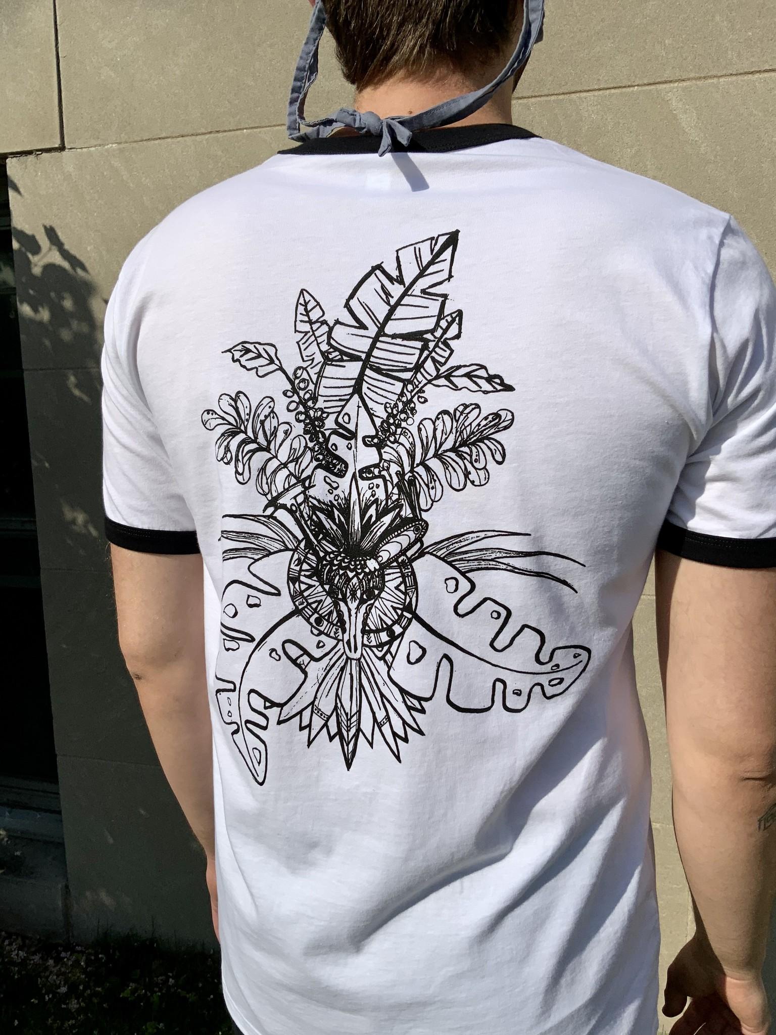 T-Shirt Mural Ringer - XL