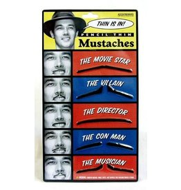 Accoutrements Pencil Thin Mustaches