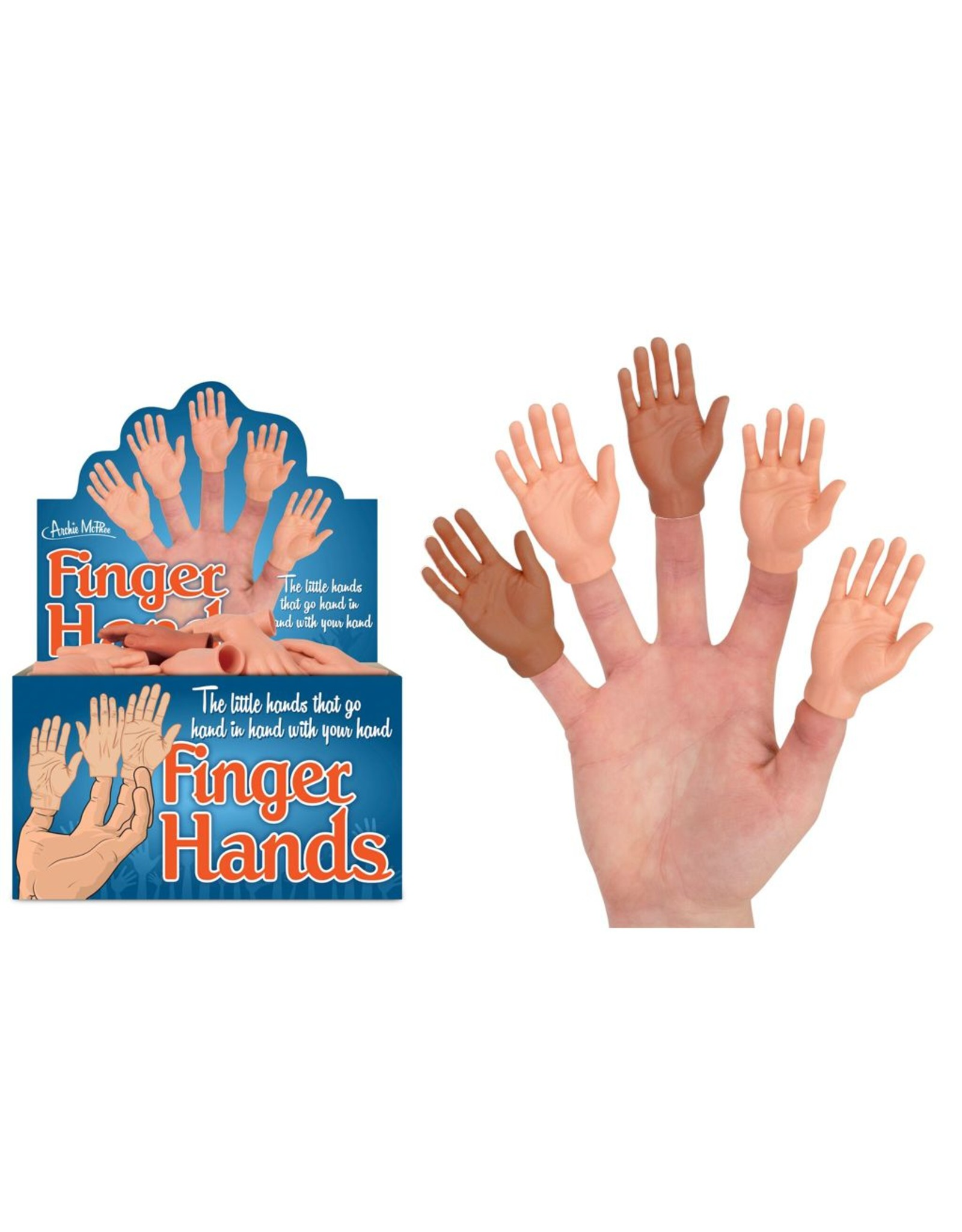 Accoutrements Finger Hands