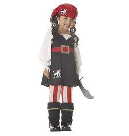 California Costume Precious Lil Pirate M (3-4)