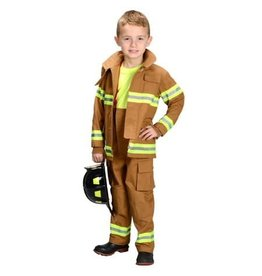 Aeromax Jr Fire Fighter Suit Tan