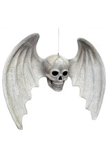 Bethany Lowe Skull with Wings Large