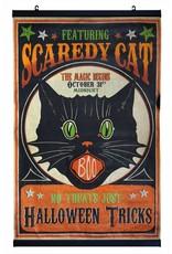 Bethany Lowe Scaredy Cat Scroll