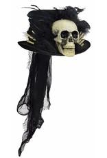 Bethany Lowe VooDoo Skull Top Hat