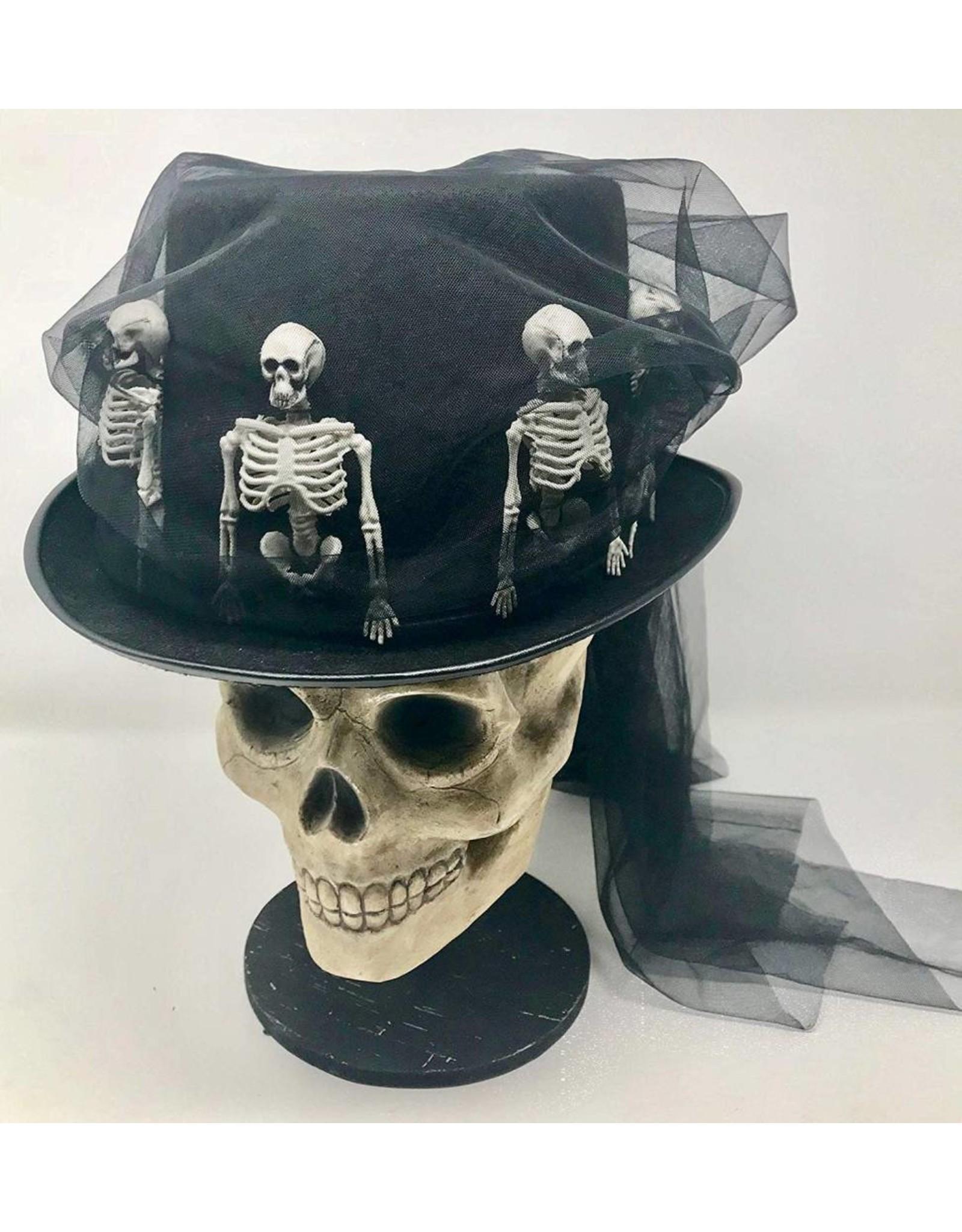 Bethany Lowe Skeleton Riding Hat