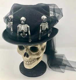 Bethany Lowe Skeleton Riding Hat