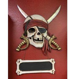 Big Stuff Pirate Plaque w/Swords