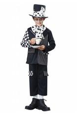 California Costume Dark Mad Hatter Child