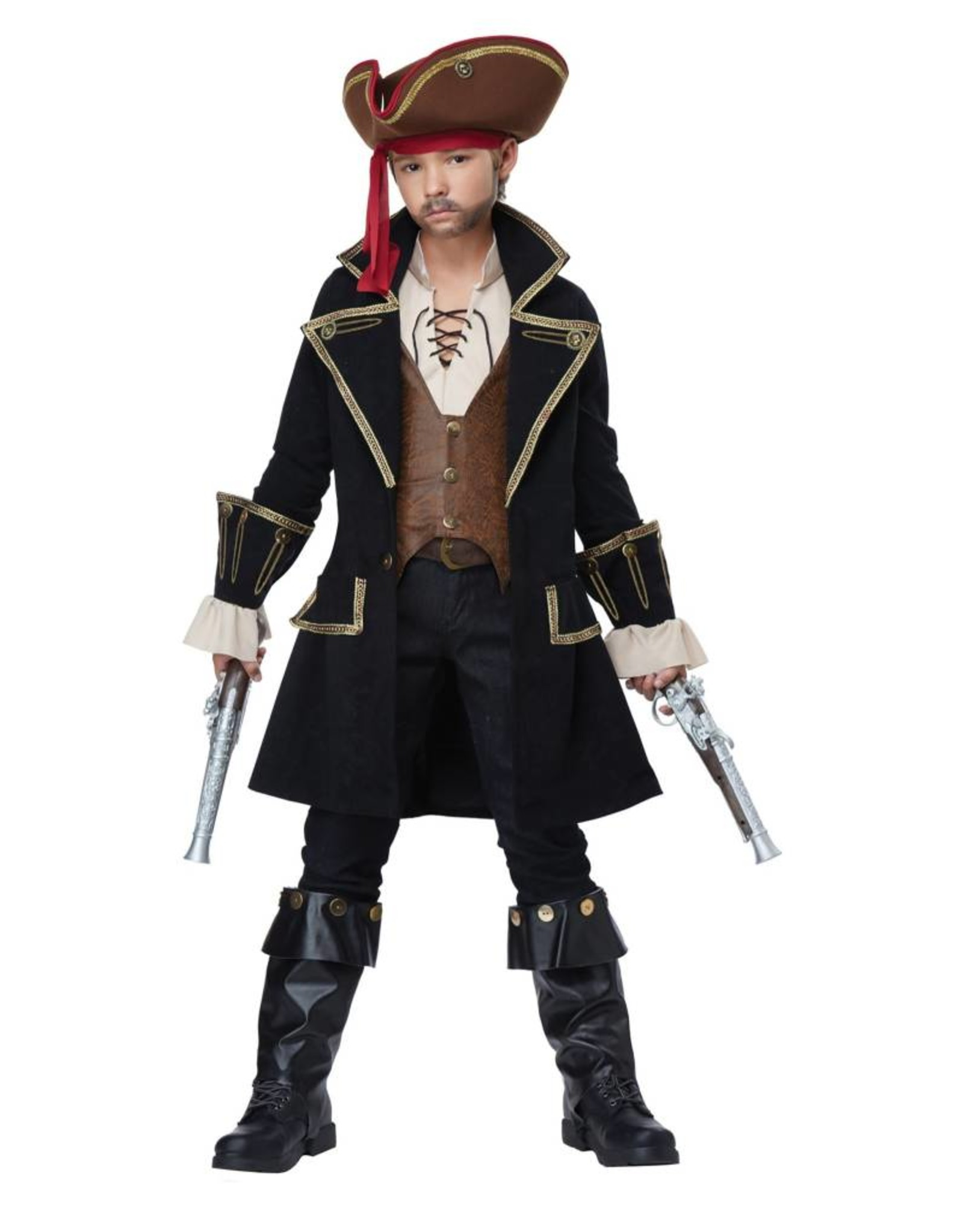 California Costume Pirate Capt. Child