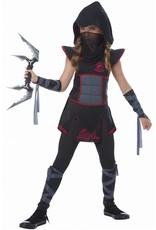 California Costume Fearless Ninja Black