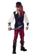 California Costume Cutthroat Pirate Child
