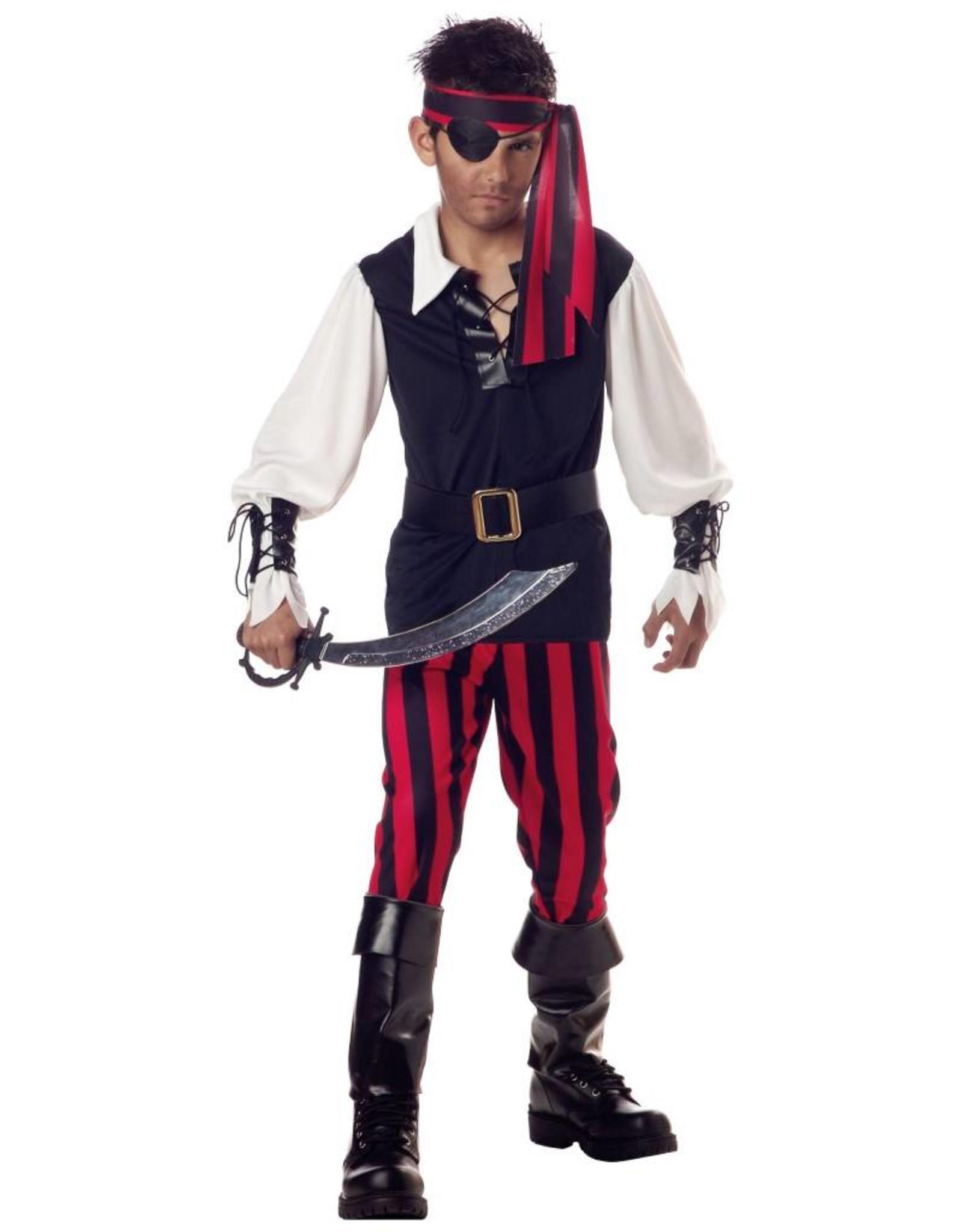 California Costume Cutthroat Pirate Child