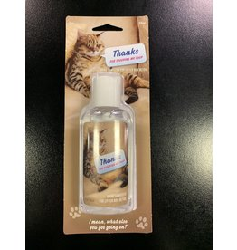 Blue Q Scooping Cat Hand Sanitizer