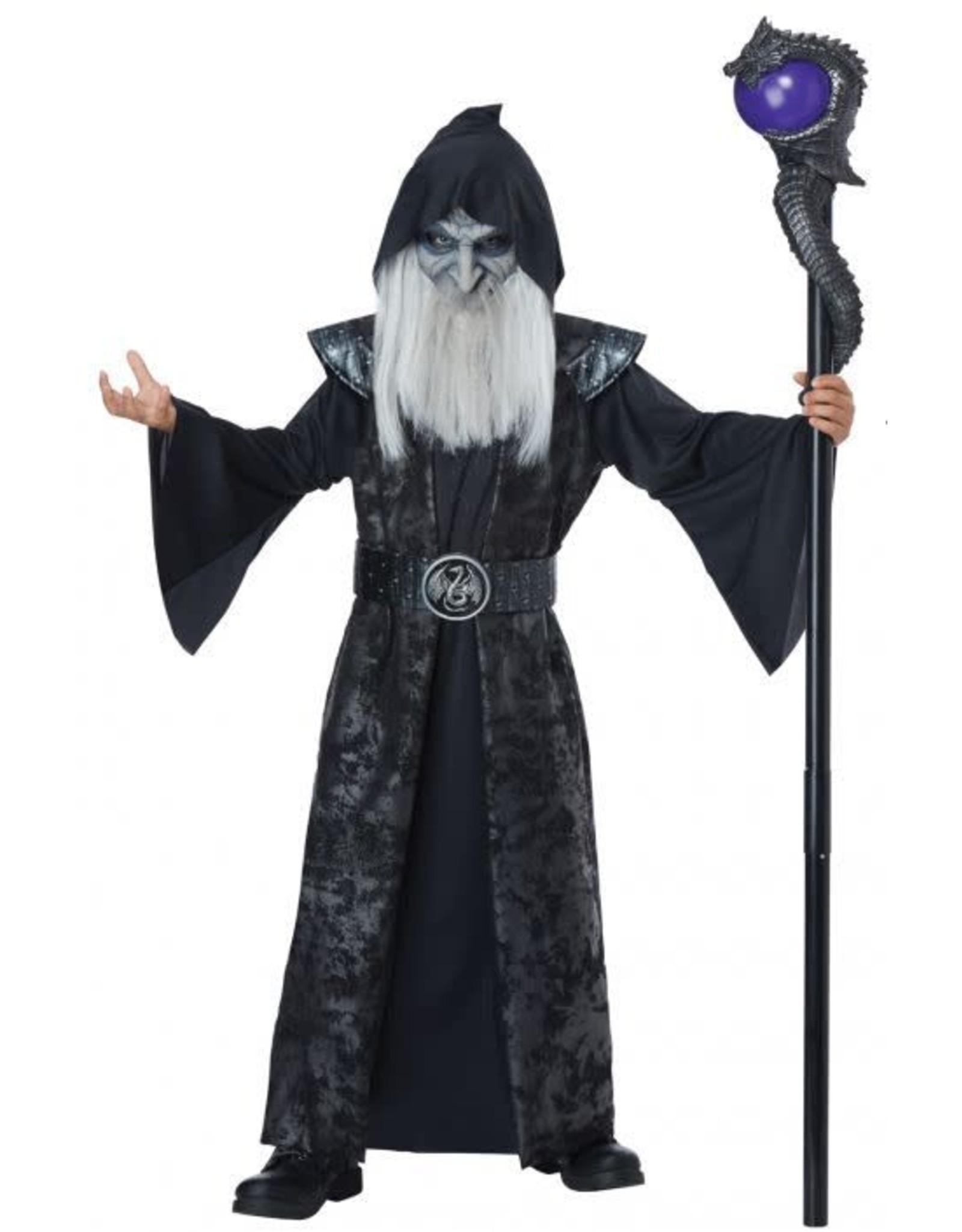 California Costume Dark Wizard Child