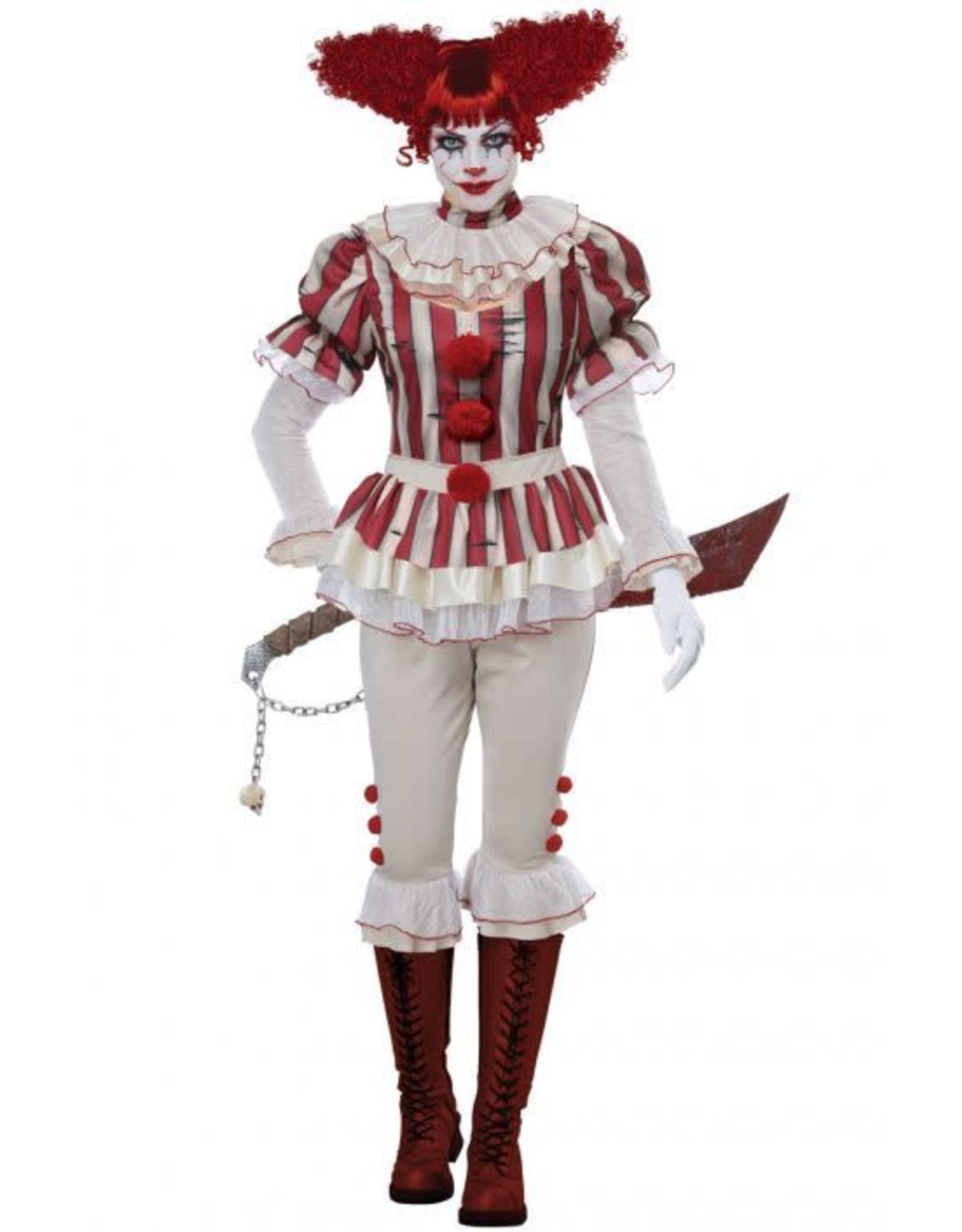 California Costume Sadistic Clown