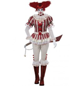 California Costume Sadistic Clown