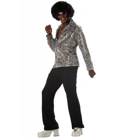 California Costume Disco Shirt & Wig