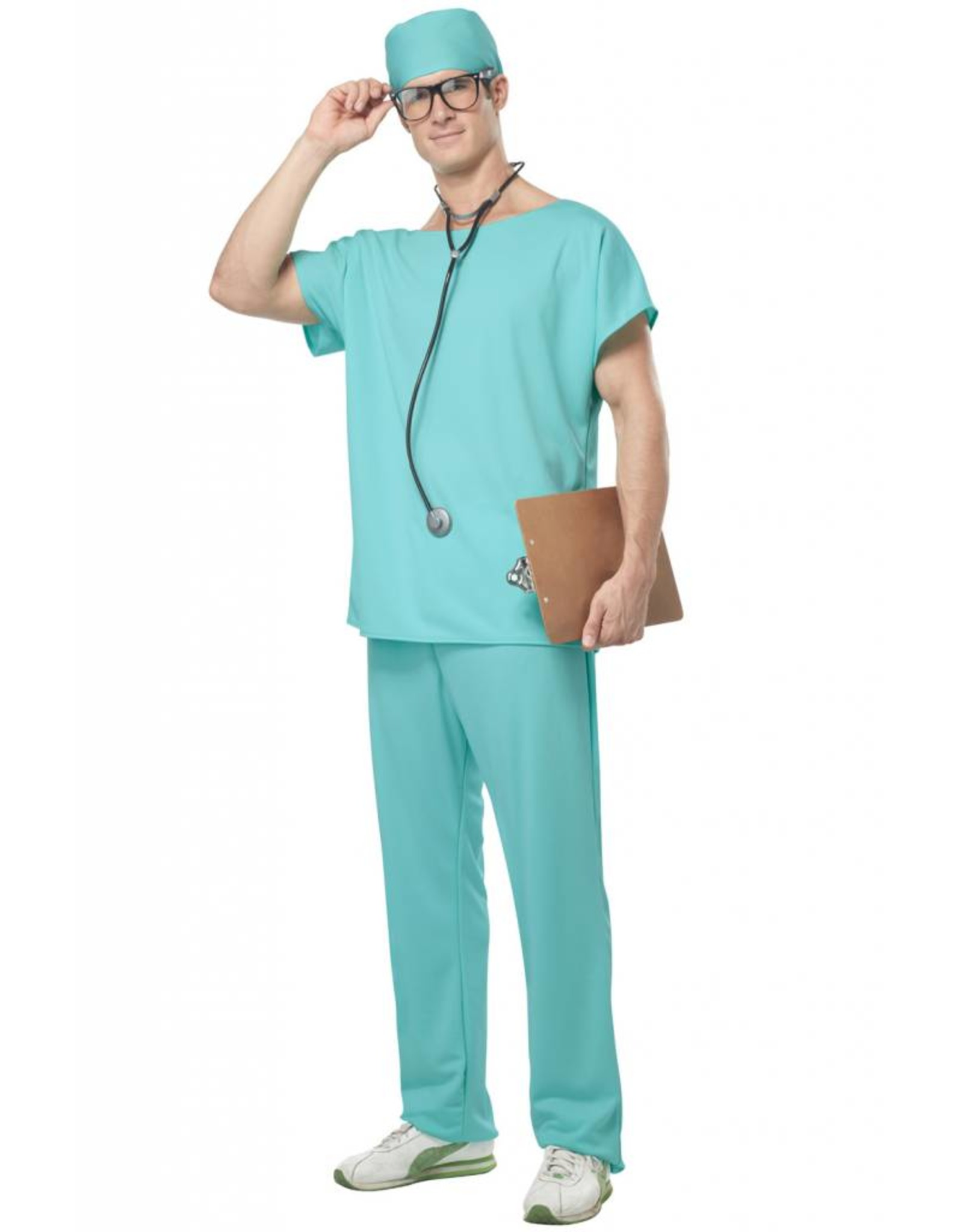 California Costume Scrubs