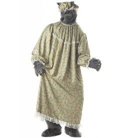 California Costume Wolf Granny