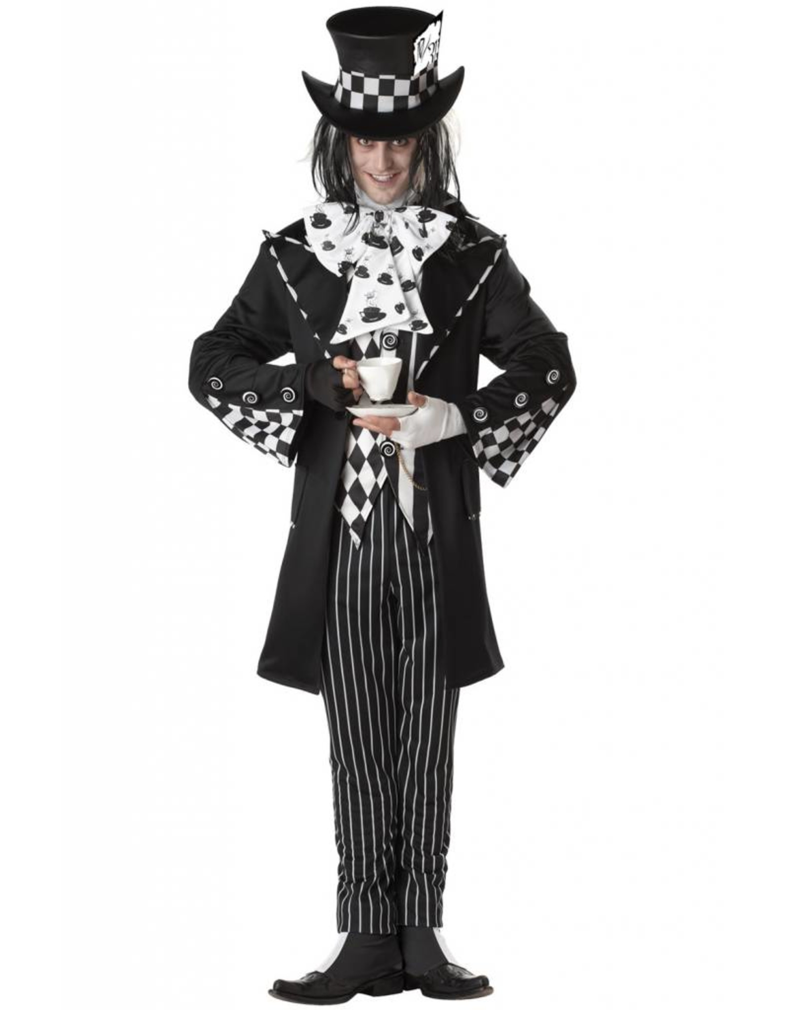 California Costume Dark Mad Hatter