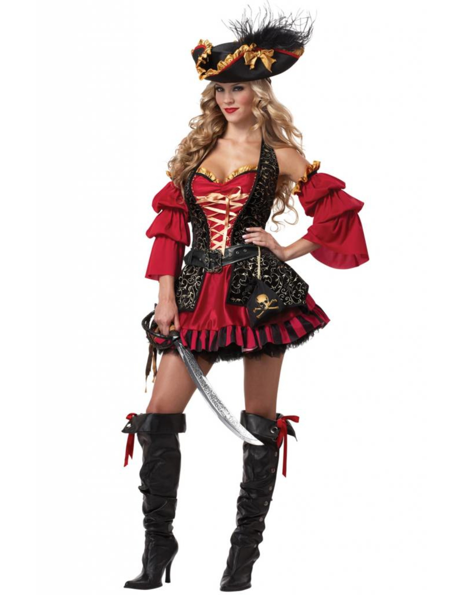 California Costume Spanish Pirate