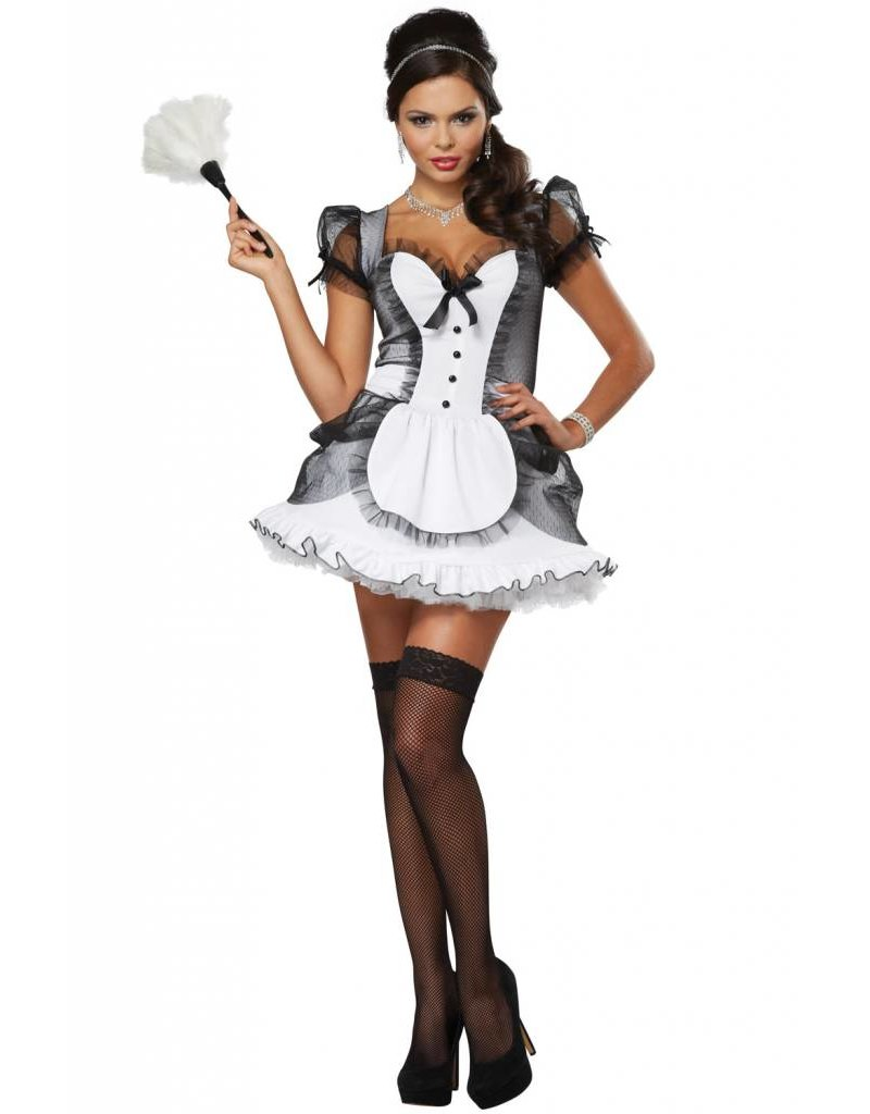 California Costume Luxe French Maid