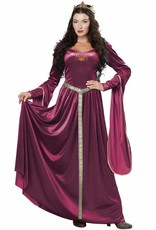 California Costume Lady Guinevere Plum