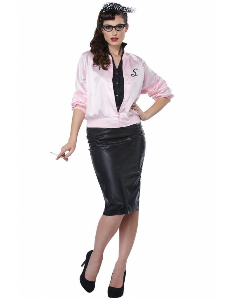 California Costume 50's Satin Jacket