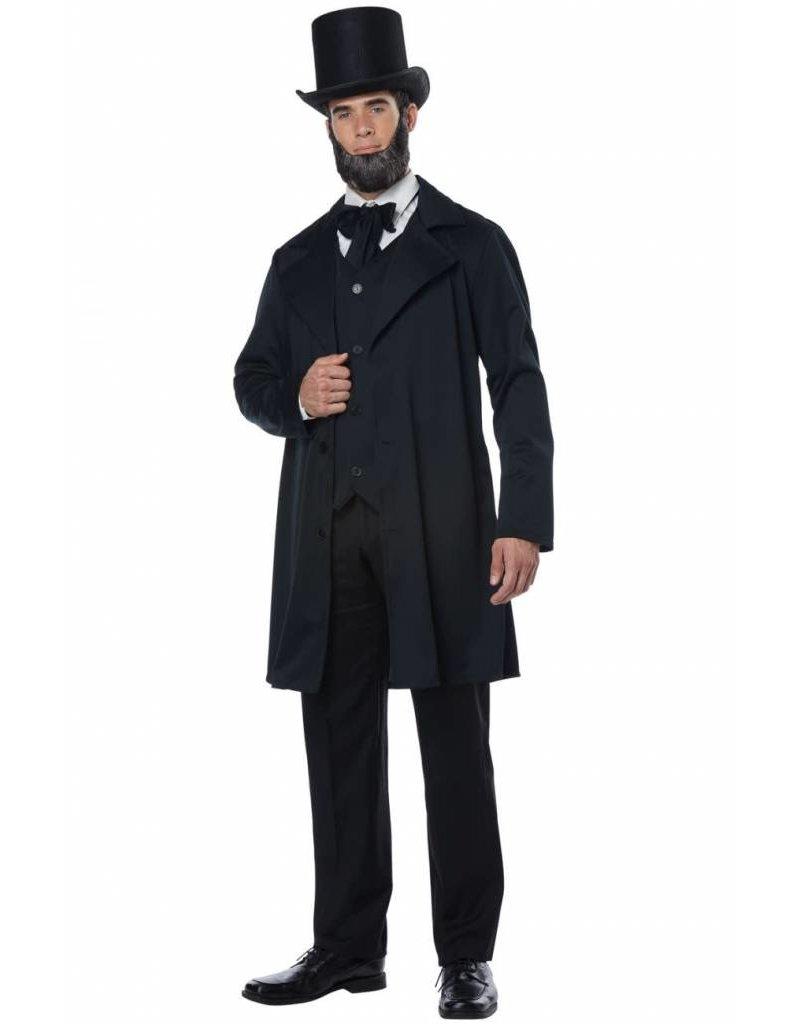 California Costume Abraham Lincoln