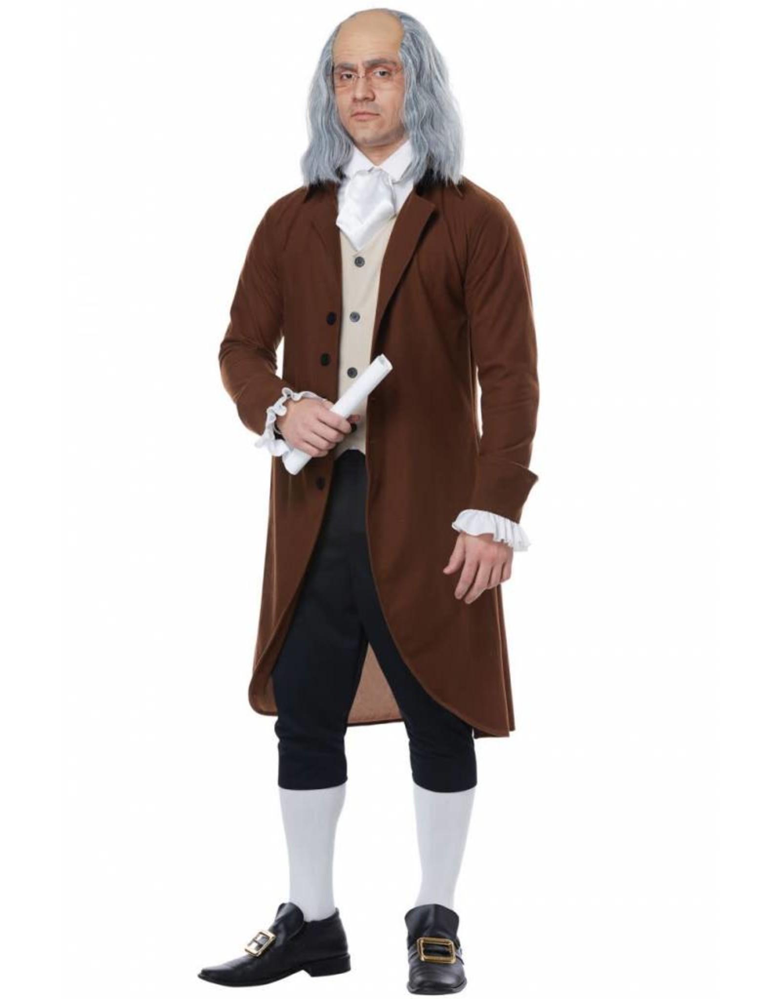 California Costume Benjamin Franklin