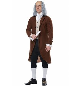 California Costume Benjamin Franklin
