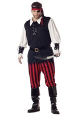 California Costume Cutthroat Pirate Plus